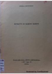 Ritratti di Marino Marini