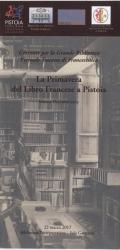La primavera del libro francese a Pistoia