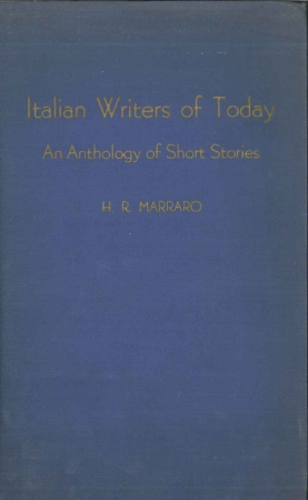 Italian writers of today