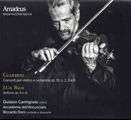 Concerti per violino e orchestra, op. 15, n. 2, 3 e 6 [Audioregistrazione]