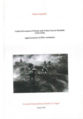 Caduti del Comune di Pistoia nella prima guerra mondiale (1915-1918)