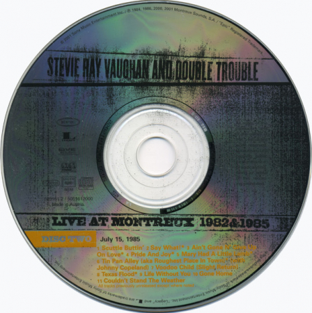 2: Stevie Ray Vaughan And Double Trouble