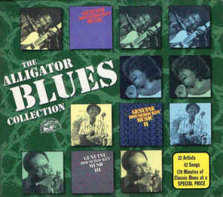 The Alligator blues colletion