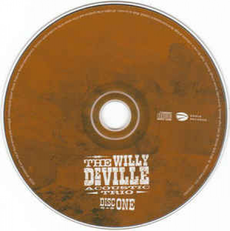 The Willy Deville acoustic trio in Berlin / Willy Deville with David Keyes e Seth Farber. 2