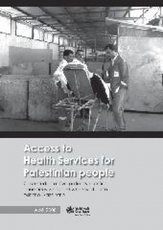 Access to health services for Palestinian people