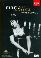 Maria Callas at Convent Garden