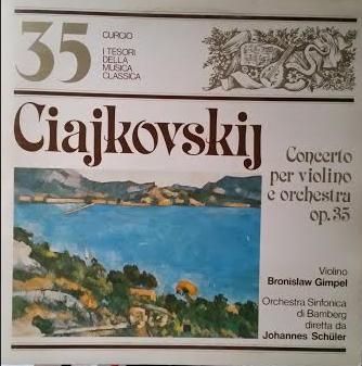 Concerto in re magg. per violino e orchestra op. 35