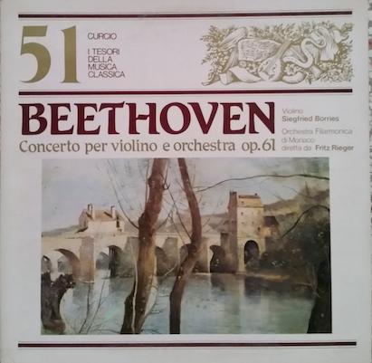 Concerto in re maggiore per violino e orchestra op. 61
