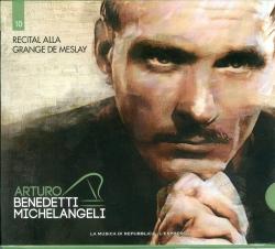 Arturo Benedetti Michelangeli esegue Recital alla Grange de Meslay