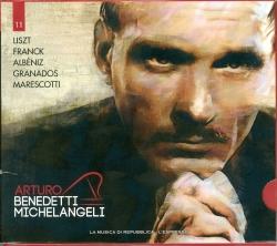 Arturo Benedetti Michelangeli esegue Liszt, Albeniz, Granados, Marescotti
