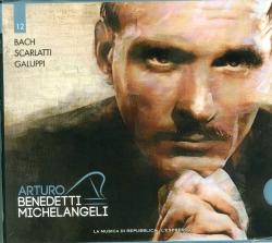 Arturo Benedetti Michelangeli esegue Bach Scarlatti Galuppi