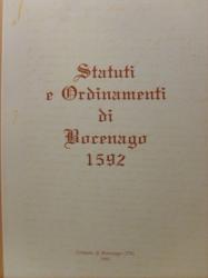 Statuti e ordinamenti di Bocenago