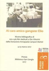 Al caro amico gangster Elio