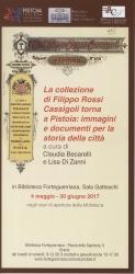 La collezione di Filippo Rossi Cassigoli torna a Pistoia: immagini e documenti per la storia della città