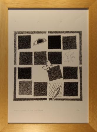 Dodici quadri: una farfalla