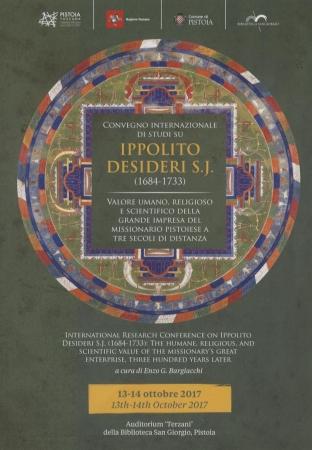 Convegno internazionale di studi su Ippolito Desideri S.J. (1684-1733)