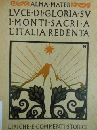 Luce di gloria su i monti sacri a l'Italia redenta