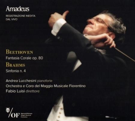 Fantasia corale, op. 80 [Audioregistrazione] / Beethoven. Sinfonia n. 4 / Brahms