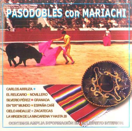Pasodobles con mariachi