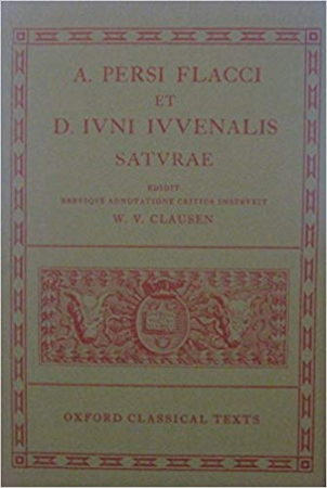 A. Persi Flacci et D. Iuni Iuvenalis Saturae