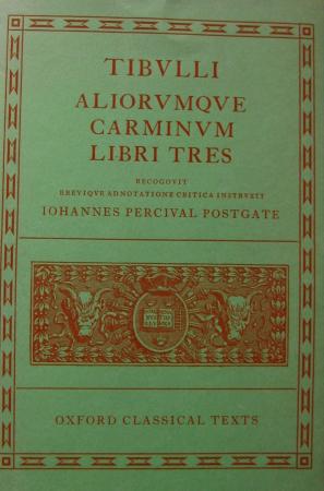 Tibulli aliorumque Carminum libri tres