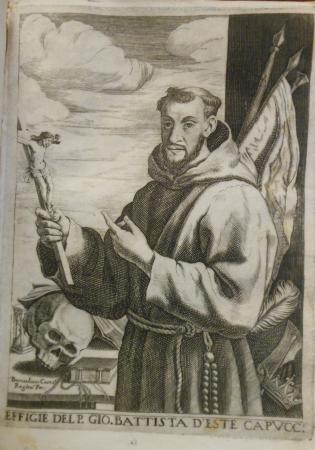 Effigie del p. Gio. Battista d'Este cappuccino
