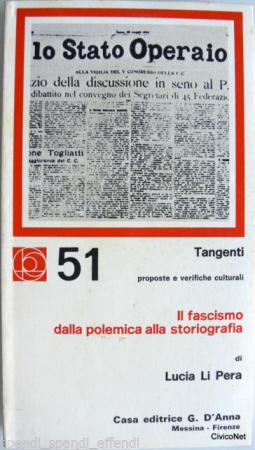 Il fascismo dalla polemica alla storiografia