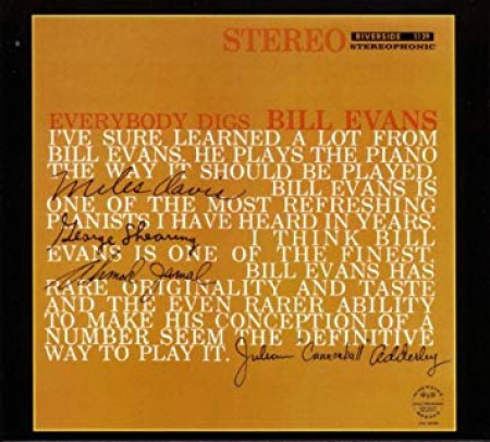 Everybody digs Bill Evans [Audioregistrazione]