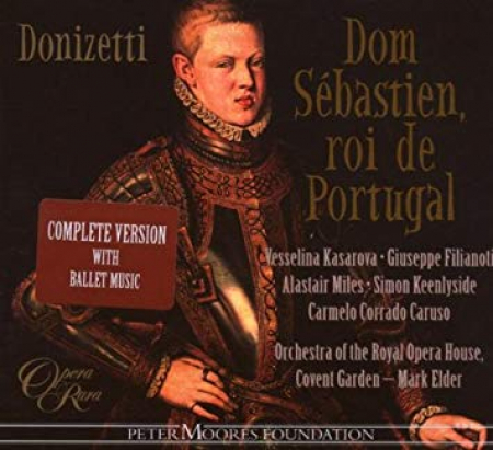 Don Sebastienroi de Portugal [Audioregistrazione]