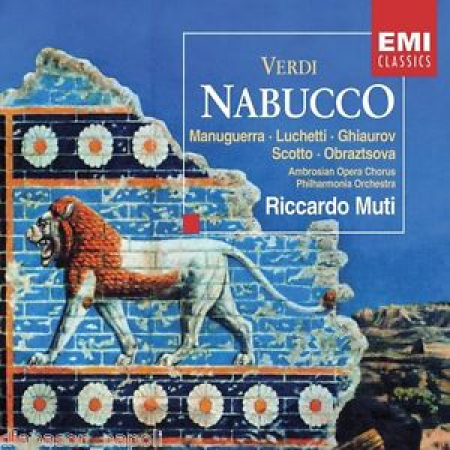Nabucco [Audioregistrazione]