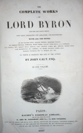 The complete works of Lord Byron