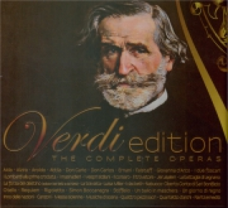 Verdi edition [Audioregistrazione] : the complete operas : Aida .... 17-18: Attila [Audioregistrazione]