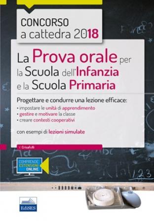 La prova orale per la scuola dell'infanzia e primaria