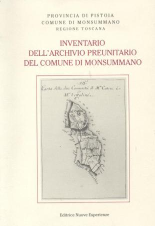 Inventario dell'archivio preunitario del Comune di Monsummano