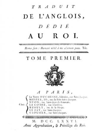 Shakespeare traduit de l'anglois, dédié au roi. Tome premier [-vingtieme]. 1. Tome premier