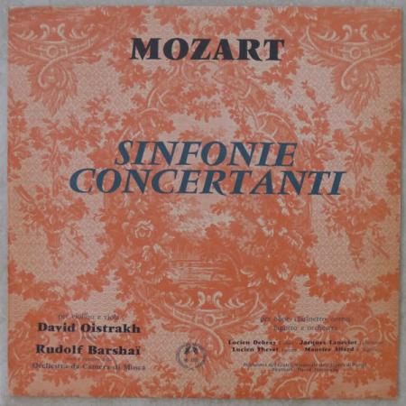 Sinfonia concertata in mi bemolle maggiore per violino e viola (K. 364)