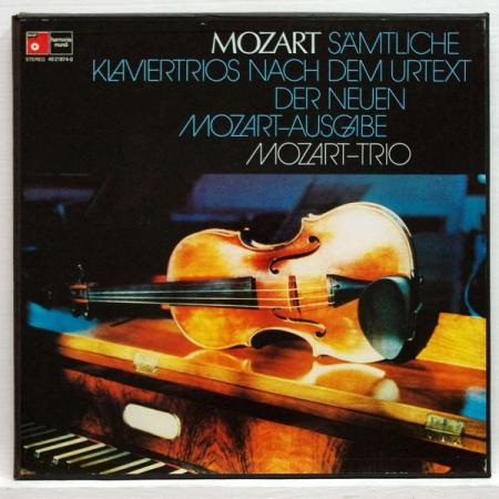 Samtliche Klaviertrios nach dem urtext der neuen Mozart Ausgabe