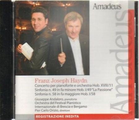 Concerto per pianoforte e orchestra Hob. 18/11 [Audioregistrazione]