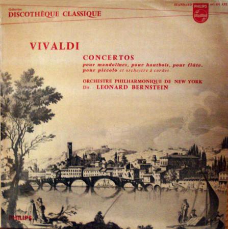 Concertos pour mandolines, pour hautbois, pour flute, pour piccolo et orchestre à cordes