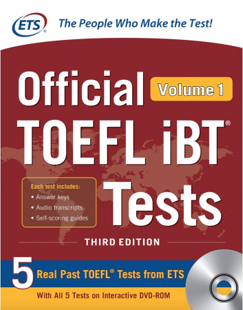 Official TOEFL iBT tests / Educational testing service. Volume 1