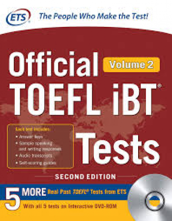 Official TOEFL iBT tests / Educational testing service. Volume 2