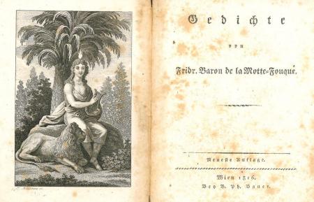 Gedichte von Friedr., Baron de La Motte-Fouqué