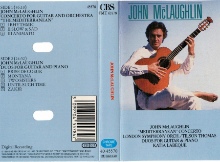 "Concerto For Guitar & Orchestra ""The Mediterranean"""