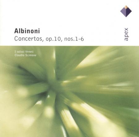 Concerto in B flat major for violin, strings and continuo, op. 10 no.1-6 [Audioregistrazione]