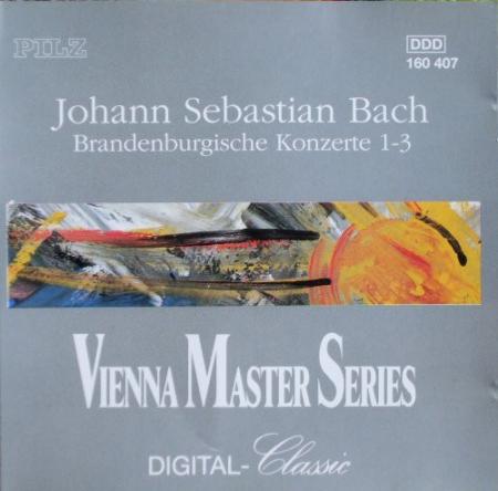 Brandenburgische konzerte nr. 1-3 [Audioregistrazione]