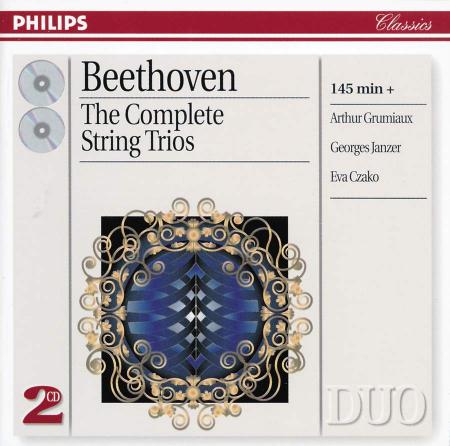 The Complete String Trios [Audioregistrazione]