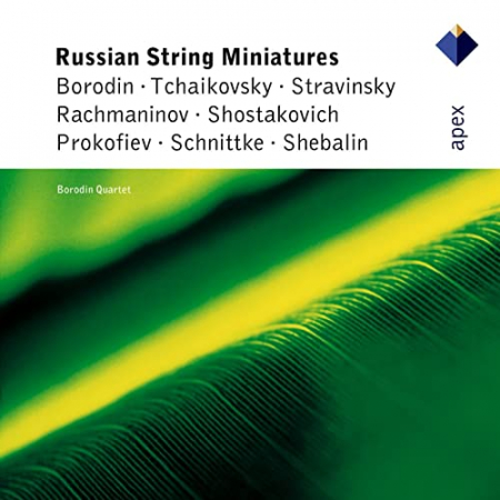 Russian string miniatures [Audioregistrazione]