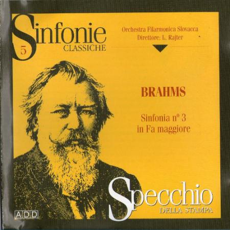 Sinfonia n°3 in fa maggiore [Audioregistrazione]