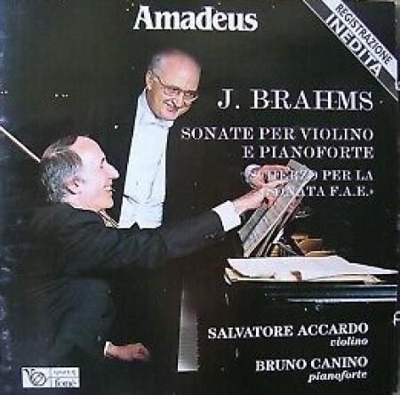 Sonate per violino e pianoforte, scherzo per la sonata F.A.E. [Audioregistrazione]