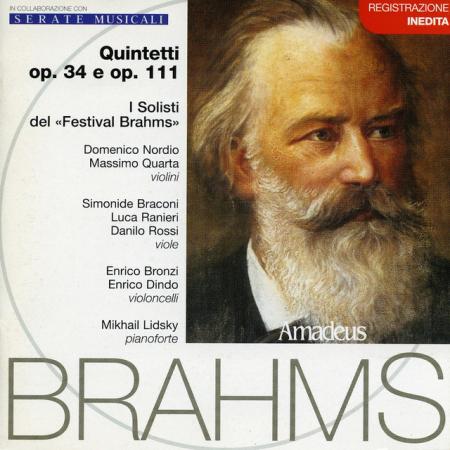 Quintetti op. 34 e op. 111 [Audioregistrazione]